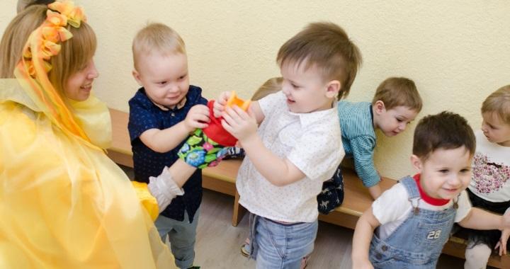 Частный детский сад Челябинск фото